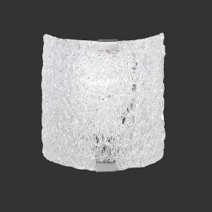Kleine preisgünstige Wandleuchte aus Acrylglas