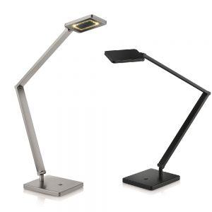 Knapstein LED-Tischleuchte mit Tastdimmer