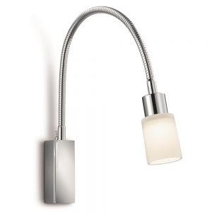 Knapstein LED-Wandleuchte mit Glas, 2 Oberflächen