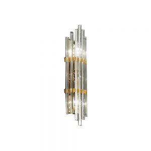 Kolarz® Wandleuchte Ontario, 2-flammig, vergoldet, 2 Größen