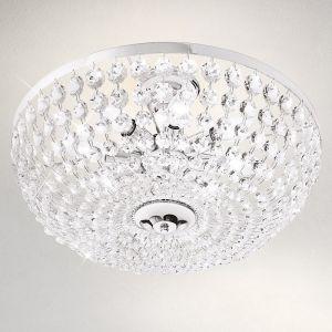 Kristall-Deckenleuchte Valerie von Kolarz® in chrom Ø 50cm 8x 40 Watt, 26,00 cm, 50,00 cm