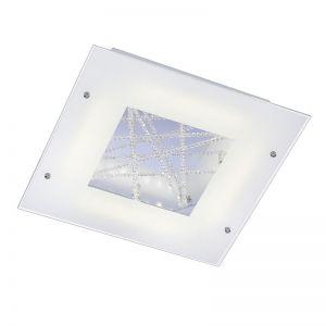 Kristall-LED-Deckenleuchte - 40 x 40cm - LED 4 x 4W