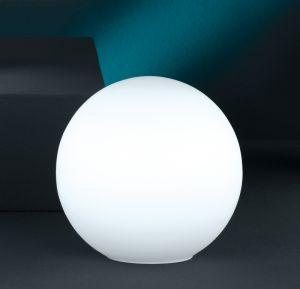 Tischleuchte, Kugel, Fassung E27 für LED, weißes Opalglas, 3 Größen