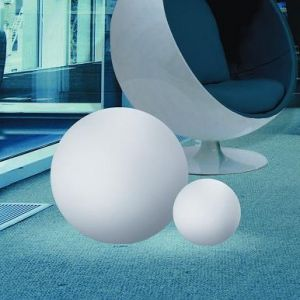 Kugelleuchte aus Polyethylen - bruch-beständig, Ø 38cm - Innenbereich