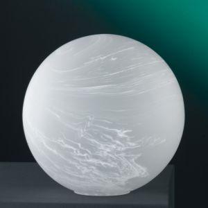 Kugelleuchte aus weißem Alabasterglas - 2 Größen
