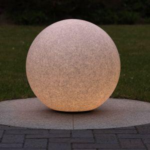 LHG Kugelleuchte in Granit-Optik, Ø 50cm, inkl. 6 W LED