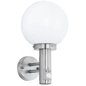 Kugelleuchte Wandlampe mit Bewegungsmelder