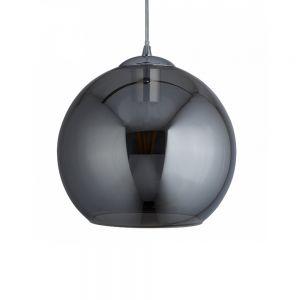 Kugel-Pendelleuchte Balls, Rauchglas 25 cm