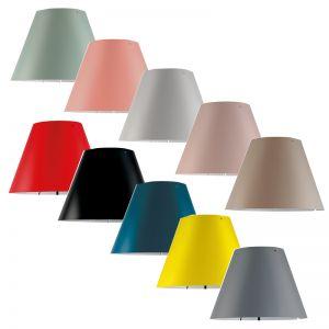 Kunststoffschirm zur Costanzina von Luceplan in 11 Farben wählbar