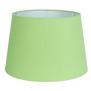 Lampenschirm  Stoff grün Ø unten 31cm