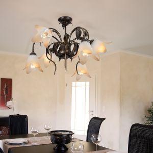 Landhaus Deckenleuchte Palm - Florales Design