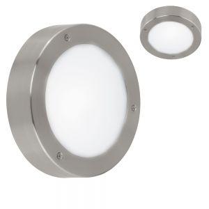 LED Außenleuchte Ø 18,5cm Edelstahl