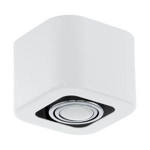LED Aufbauleuchte, Deckenleuchte, 13 cm x 13 cm, weiß 1x 5 Watt, 13,00 cm, 13,00 cm