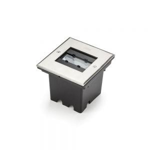 LED Bodeneinbaustrahler, einstellbarer Abstrahlwinkel, Außenbereich