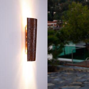 LHG LED Dachziegelleuchte, Krokant, für Innen und Außen, Landhausstil