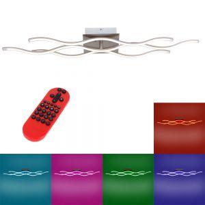 LED Deckenlampe, Fernbedienung, RGB Farbsteuerung