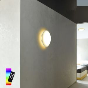 LED Deckenleuchte Q®-Arktis mit Lichtsteuerung