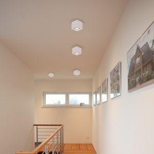 LHG LED Deckenleuchte Quad 1 weiß inklusive 7 Watt  Leuchtmittel