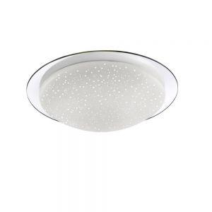 LED Deckenleuchte Skyler mit Sternenhimmel-Glas Ø38cm 1x 12 Watt, 38,00 cm