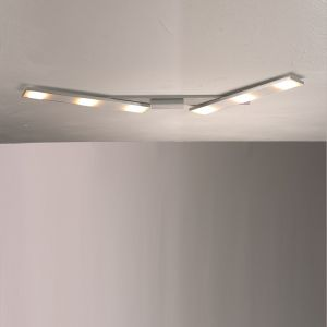 LED Deckenleuchte Slight aus Aluminium 6-flammig