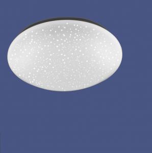 LED Deckenleuchte Sternenhimmel Effekt, D=39cm, RGBW Farbwechsel + dimmbar per Fernbedienung, Kinderzimmer