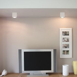LHG LED Deckenleuchte - eckig aus Gips