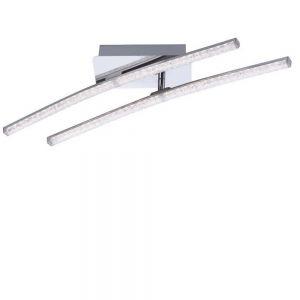 LED Deckenleuchte, Kristalloptik, schwenkbar, schwenkbar, warmweiß