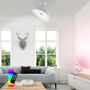 LED Deckenleuchte, Smart Home, RGBW, D= 25 o. 35cm
