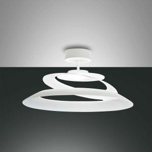 LED Deckenleuchte, weiß, design, rund, weiß, LED warmweiß, dimmfähig