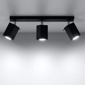 LHG LED Deckenstrahler Merida 3 schwarz, schwenkbar