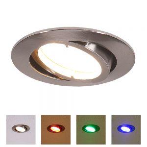 LED Einbauleuchte Lola Down, rund rund, 8,50 cm, 6,80 cm