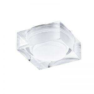 LED Einbauleuchte, Acrylglas, Höhe 3,2 cm