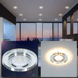 LED Einbauleuchten als Deckenlampen für das Badezimmer
