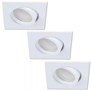 LED Einbaustrahler als 3er-Set in Weiß dimmbar switchmo
