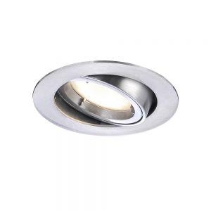 LED Einbaustrahler aus Aluminium schwenkbar und 4-stufig dimmbar 8,2 cm