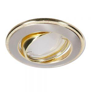 LHG LED Einbaustrahler Nickel und Gold 3-fach dimmbar switchmo