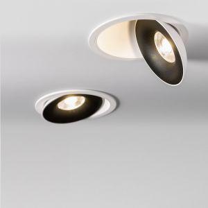 LED Einbaustrahler Saturn E in Weiß