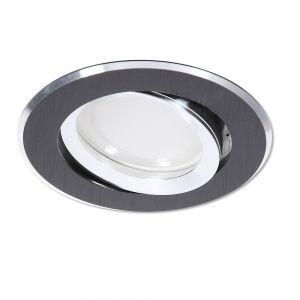 LED Einbaustrahler Schwarz rund 3-fach dimmbar switchmo