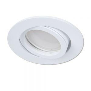 LED Einbaustrahler in Weiß rund 3-fach dimmbar switchmo