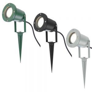 LHG LED Erdspieß-Strahler in 3 Farben - Inklusive GU10 3 Watt