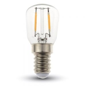 LED Filament Leuchtmittel in Birnenform E14 2 Watt 180Lumen