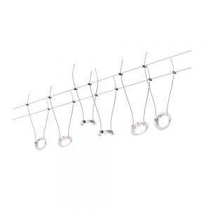 LED Komplett-Seilsystem Wire Systems DC Set Twist Coin