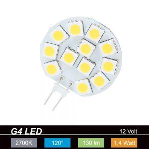 LHG LED Leuchtmittel G4 1,5Watt  warmweiß