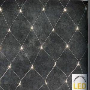 LED Lichternetz  System für Innen und Außen, 208 LED warmweiß