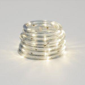 LED Lichterschlauch für Außen, in warm weiß