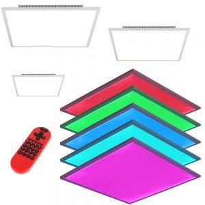 LED Panel, RGB Farbwechsel, Fernbedienung, verschiedene Größen