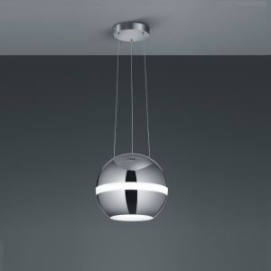 LED Pendelleuchte Balloon in chrom chrom