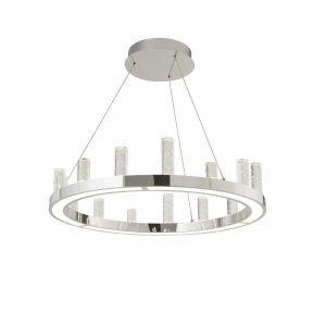 LED Pendelleuchte mit Blasenglas