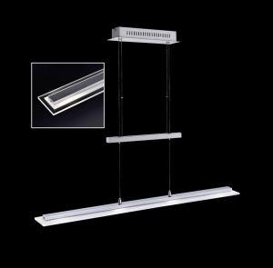 LED Pendelleuchte, Fernbedienung, RGBW, 88cm lang, höhenverstellbar