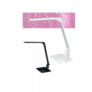 LED Schreibtischleuchte in Schwarz oder Weiß mit USB-Anschluß